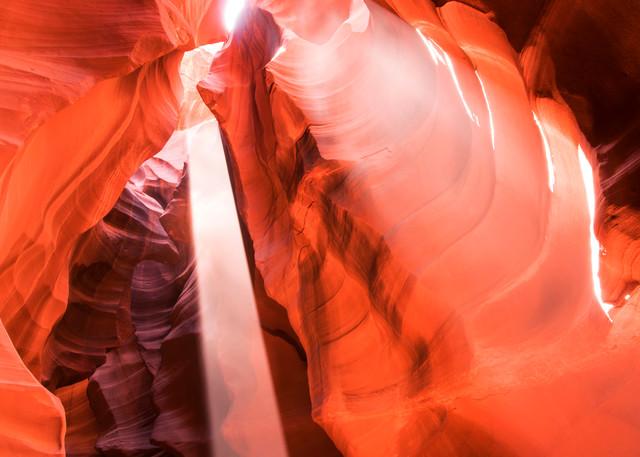 Heart Chamber, Arizona Slot Canyons Fine Art Print