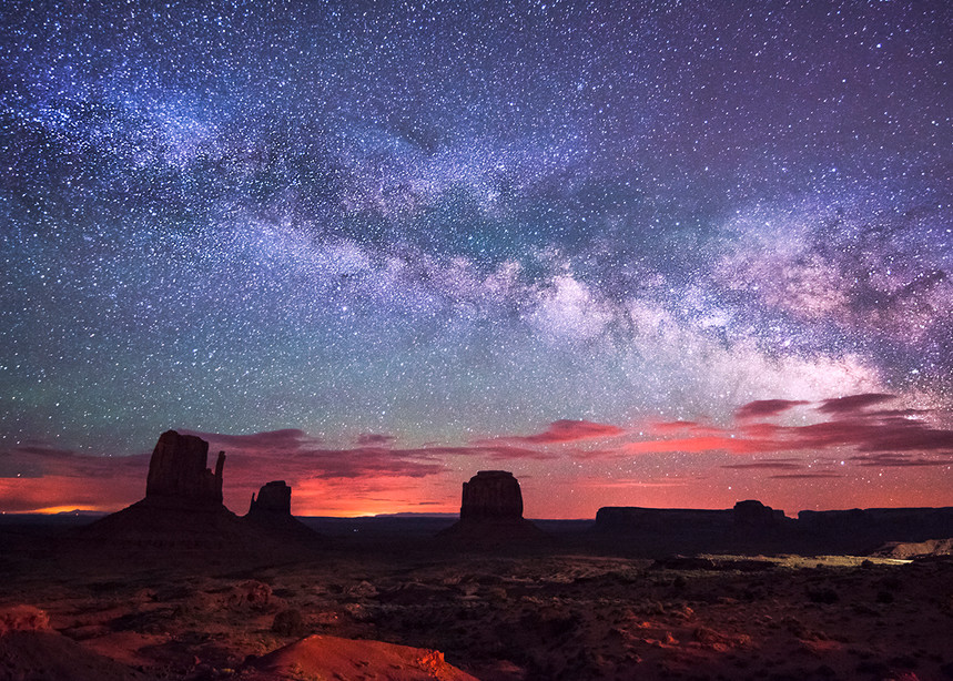 When Galaxies Collide, Monument Valley Fine Art Photography