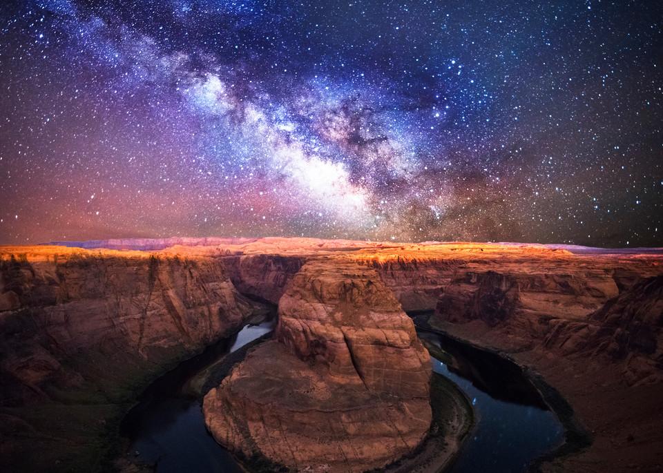 Horseshoe Bend Stargazing Photo Print