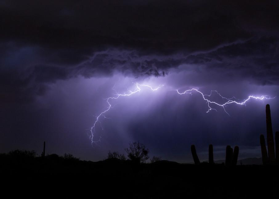 Desert Lightning, Scottsdale AZ Fine Art Photography Print