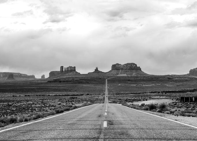 The Turnaround Highway 163 Monument Valley Print