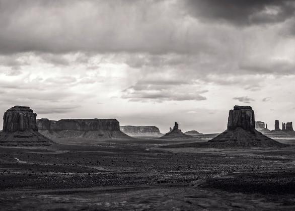 Monument Valley Mittens Panorama photo print