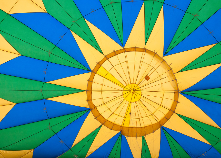 hot air balloon, sunburst, Albuquerque Balloon Fiesta