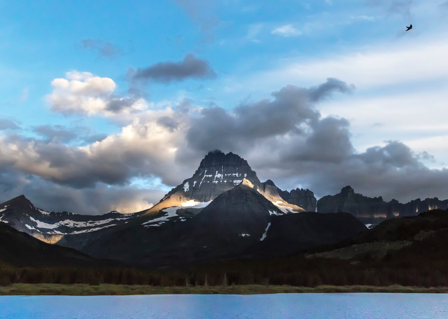 Mt Wilbur, Swift Current Lake, Glacier National Park