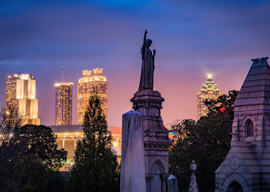 City of Atlanta at night: Susan J | Shop Prints