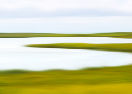 """Coatue Marsh"" - Nantucket coastal panorama photograph"