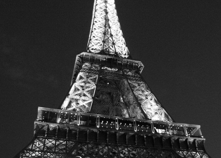 Eiffel Tower #1   Black And White Photography Art | Photoissimo - Fine Art Photography