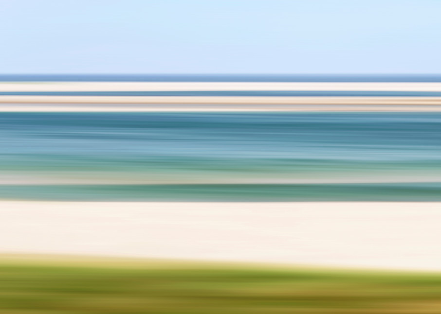 """Chatham Harbor Low Tide"" Cape Cod fine art abstract beach photograph"