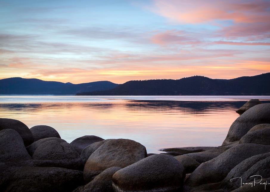 Meditation- Lake Tahoe fine art photograph by Tony Pagliaro