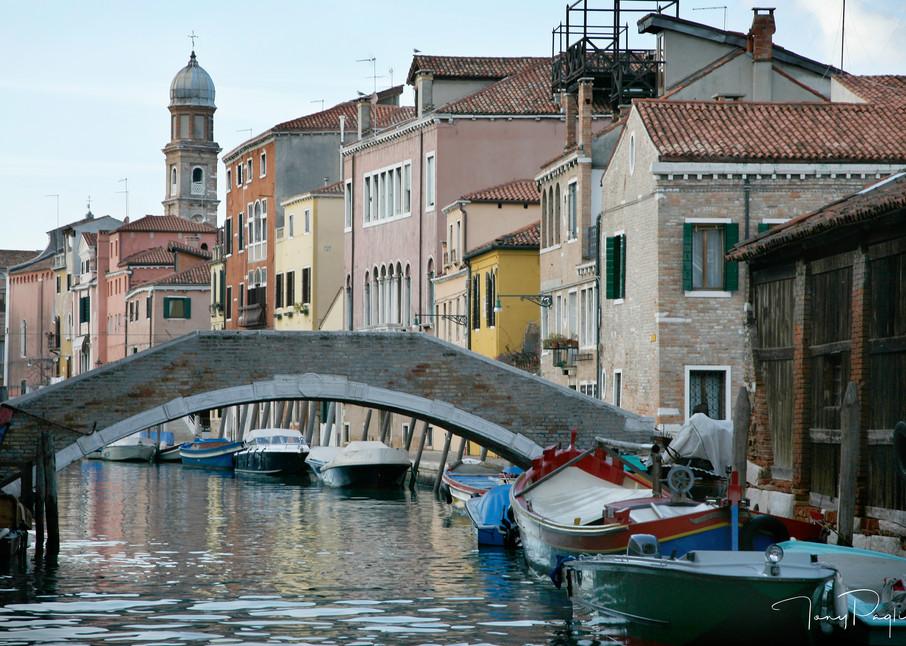 Venice Bridge photograph for sale as fine art by Tony Pagliaro