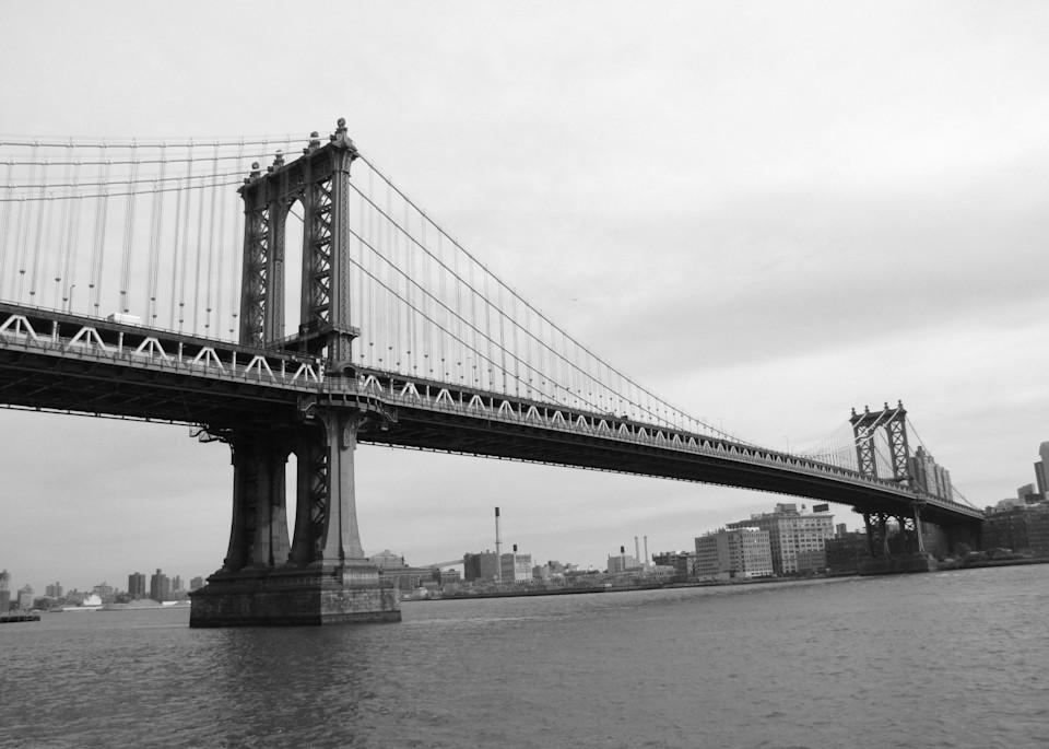 Manhattan Bridge #1 Photography Art | Photoissimo - Fine Art Photography