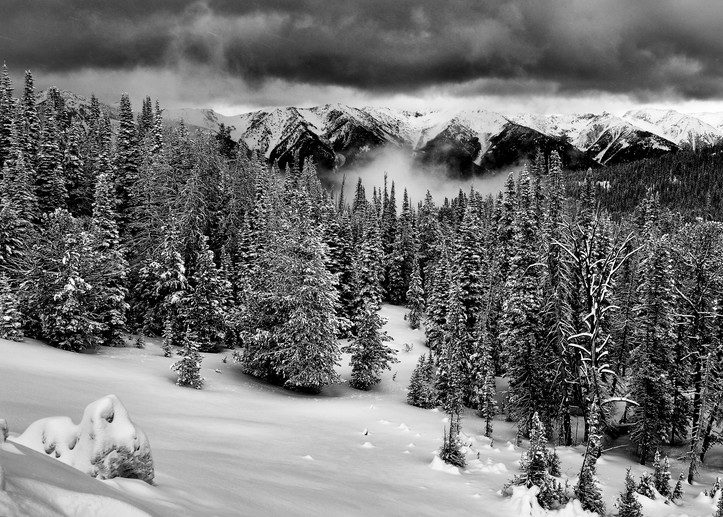 Solitude and Storm - Ketchum Swan Valley Idaho - Fine Art Prints on Metal, Canvas, Paper & More By Kevin Odette Photography