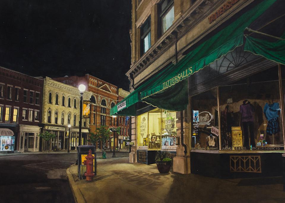 Nocturne, Rutland Vermont