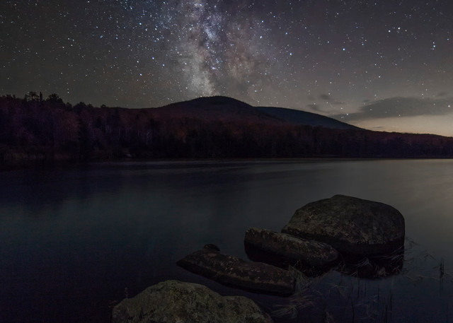 Vermont Milky Way, Noyes Pond