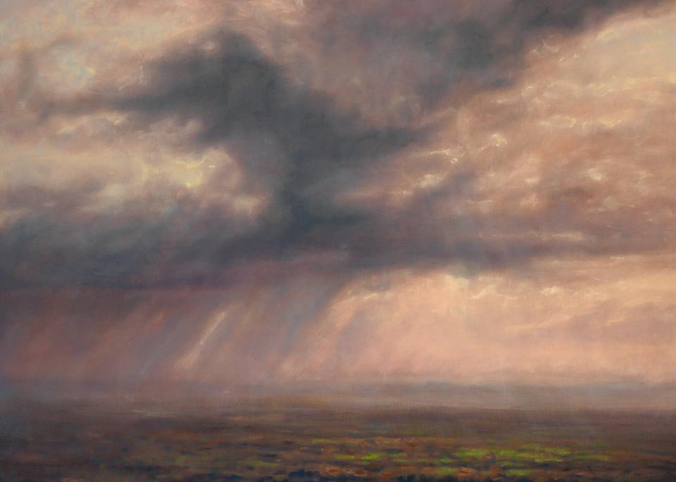 Tuscan Rain by Michael Orwick, buy canvas prints.