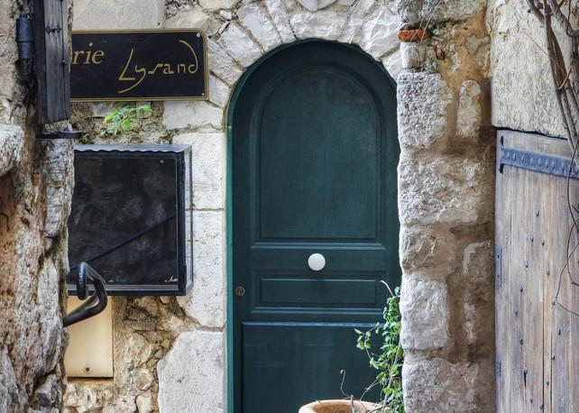 Village Doorway   Eze, France Art | Tony Pagliaro Gallery