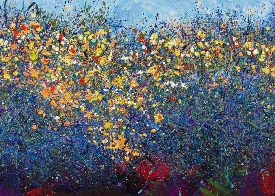 Fine Art Prints l Desert Wildflowers #15 l En Chuen Soo