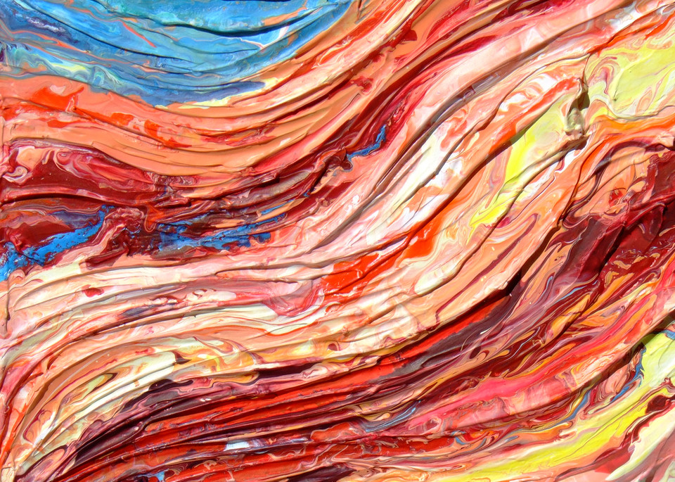 Abstract Art of Rock - Strata #3