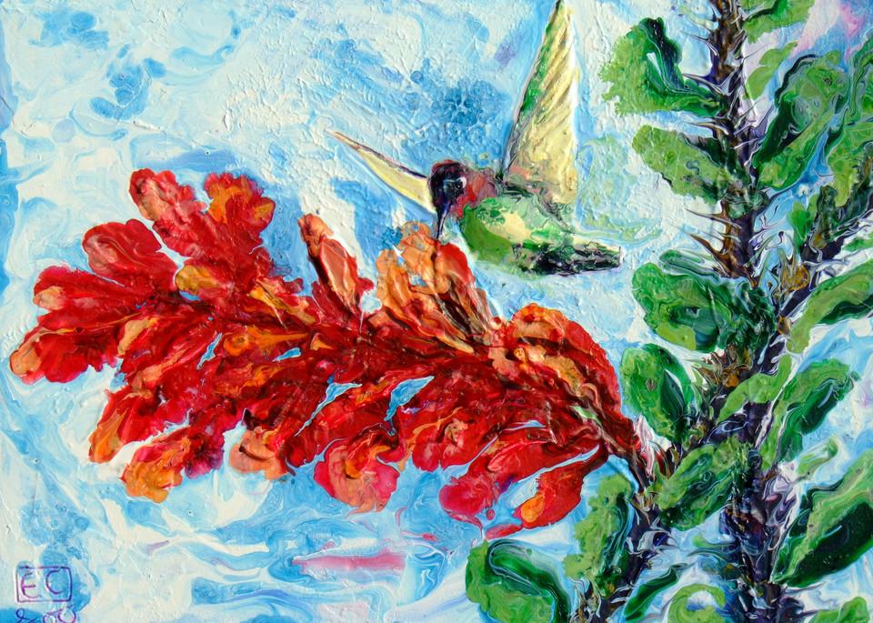 Abstract Hummingbird Art - Return of The Spring #6
