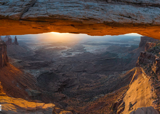 Utah S Amazing Mesa Arch At Sunrise Canyonlands National Park Nature Inspired Artwork By Thomas Schoeller As