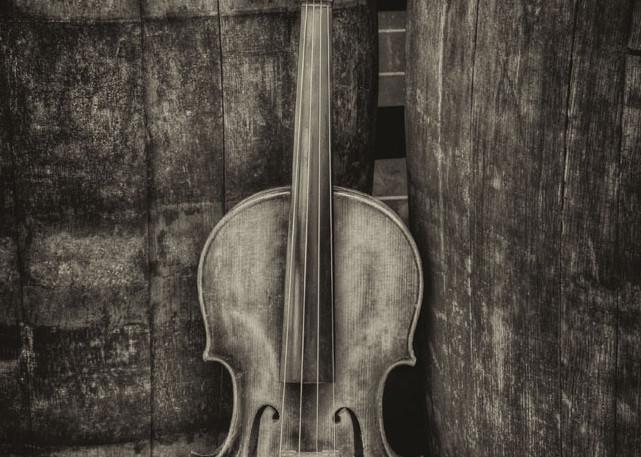 Violin Still Life Iii Art | Instrumental Art