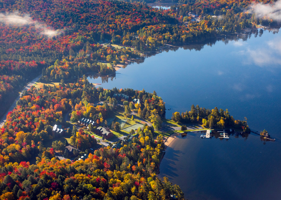 Rocky Point 4th Lake Fall Aerial Photography Art | Kurt Gardner Photogarphy Gallery