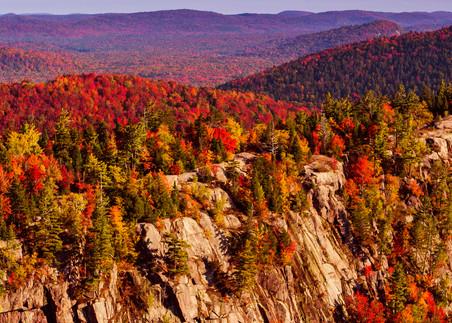 Bald Mt Fall Aerial Panoramic Photography Art | Kurt Gardner Photogarphy Gallery