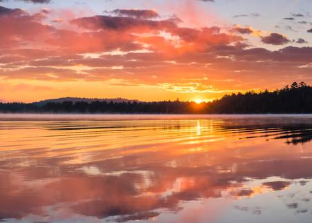 2nd Lake Sunrise Panoramic Photography Art | Kurt Gardner Photogarphy Gallery