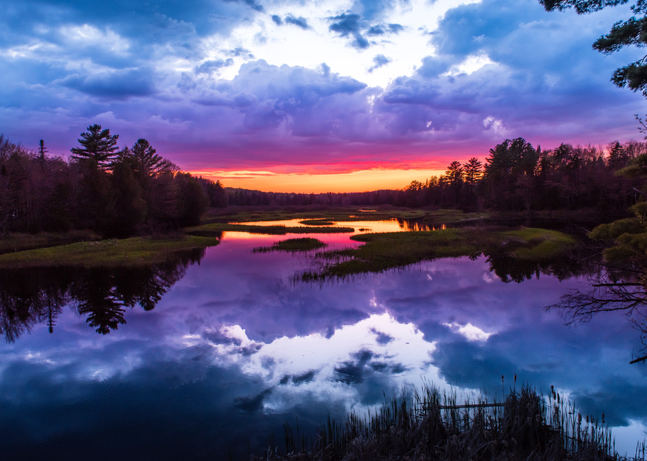 Moose River Sunset Photography Art | Kurt Gardner Photogarphy