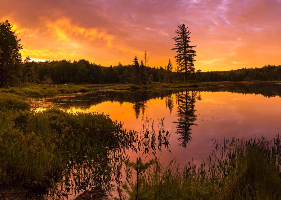 Twin Ponds Sunrise Photography Art   Kurt Gardner Photogarphy Gallery