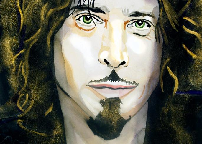 Chris Cornell   Soundgarden/Audio Slave Art | William K. Stidham - heART Art