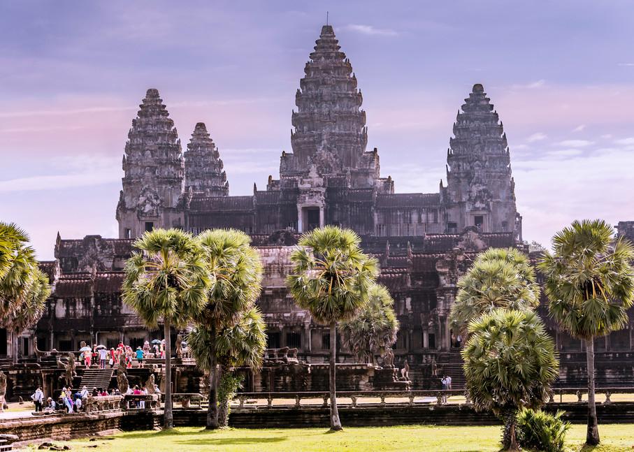 Temple in Purple | Cambodia | Susan J Photography