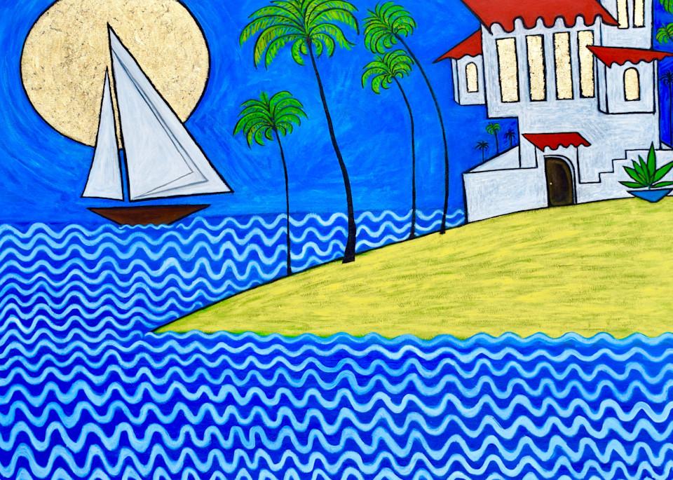 Seaside Villa Art | Wet Paint NYC