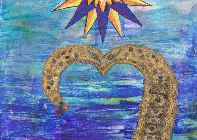 Grow Strong Recovery Art by Robin M. Gilliam