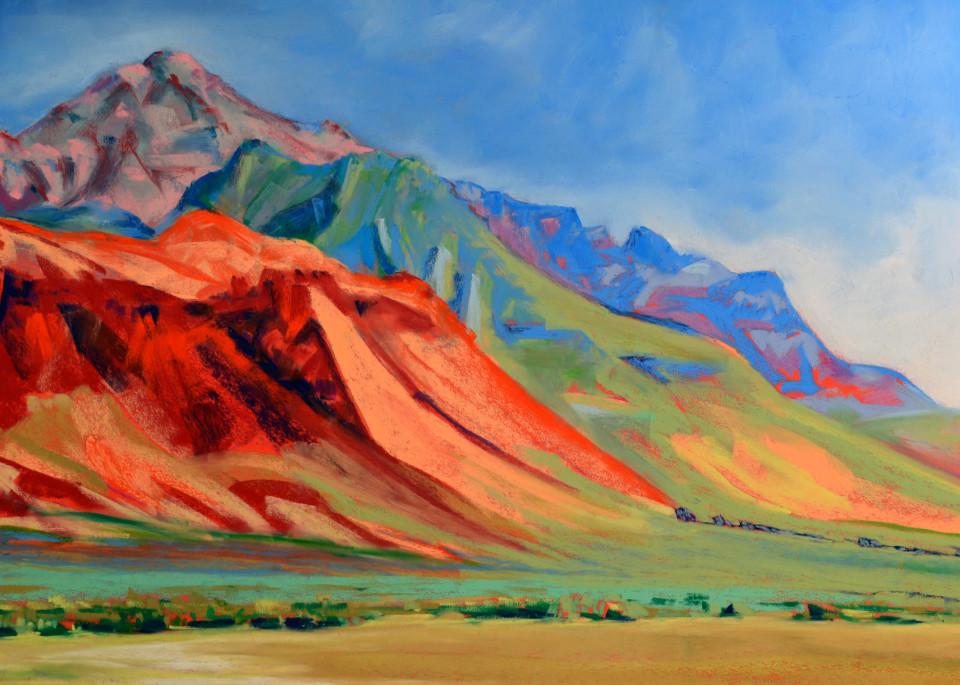 landscape painting se oregon steens mountain alvord desert