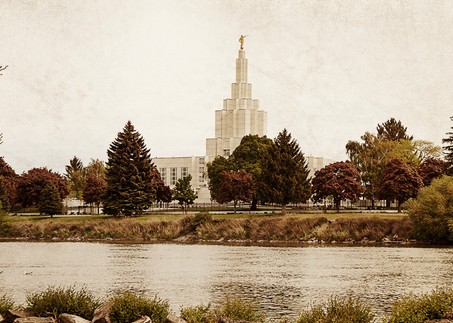 Idaho Falls Temple - Timeless Temple Series