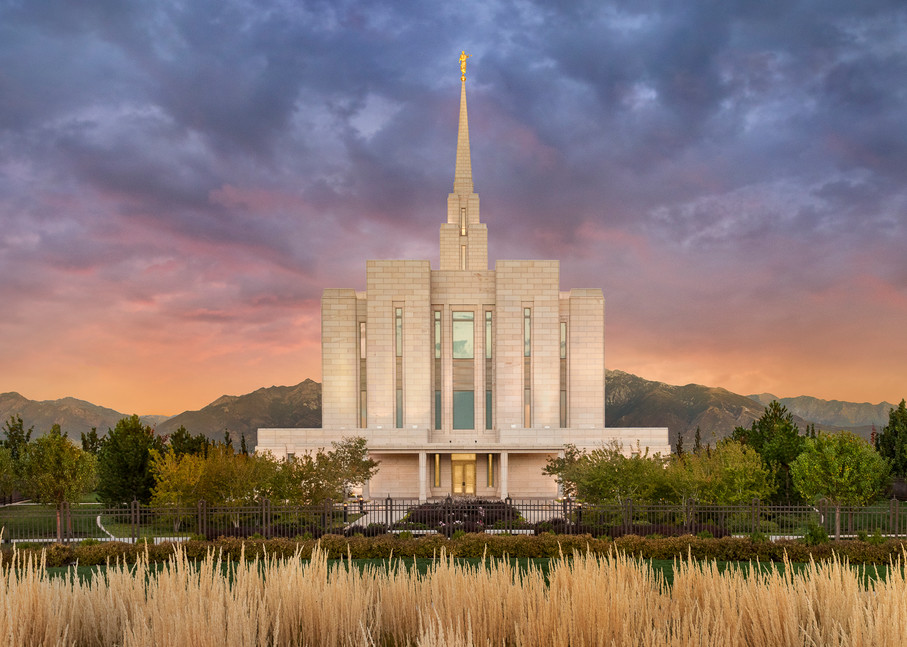 Oquirrh Mountain Temple - Refuge from the Storm