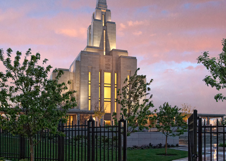 Oquirrh Mountain Temple - the Light Within