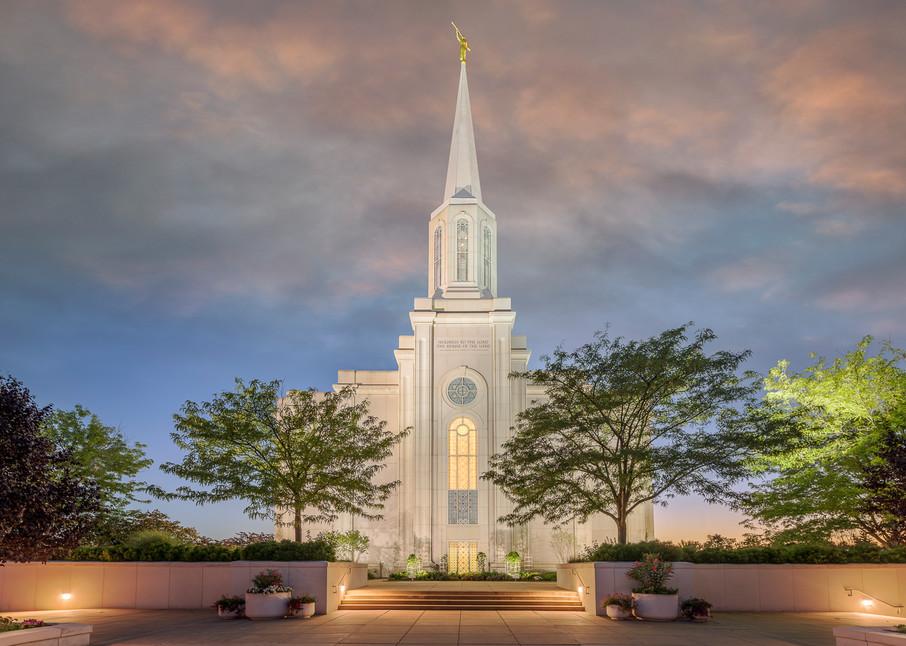 St. Louis Temple - Evening Path
