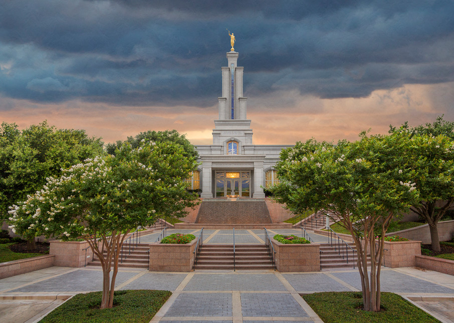 San Antonio Temple - Refuge From the Storm