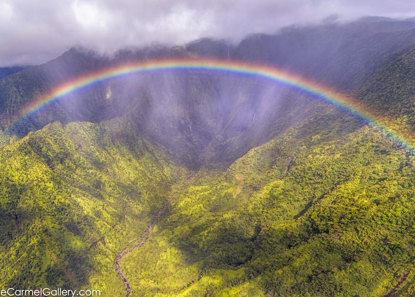 Waialeale Rainbow Photo