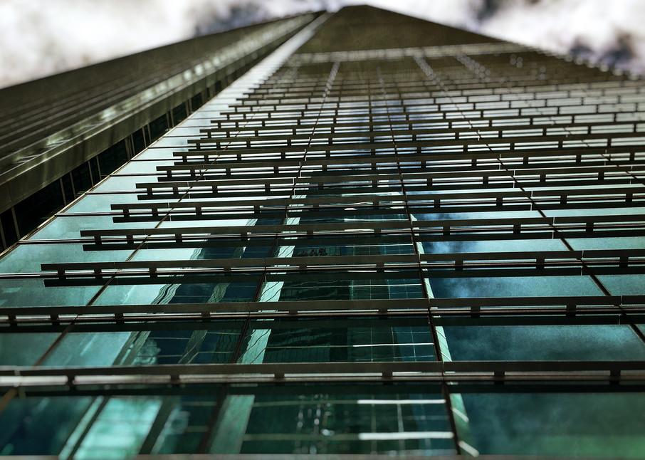 Epic Building Reflection Photo For Sale! Richard London