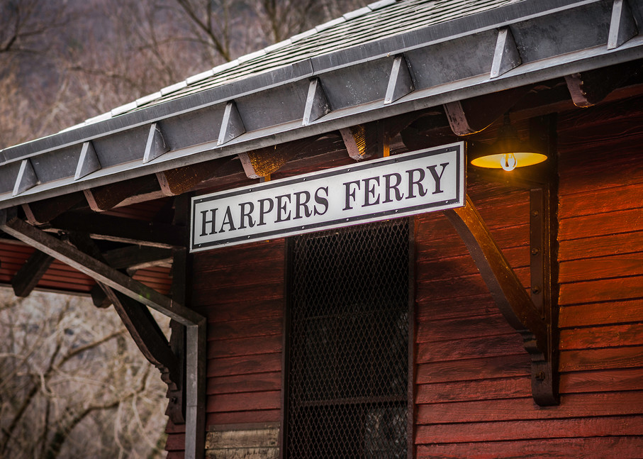 The Stop at Harper's Ferry | Susan J Photography