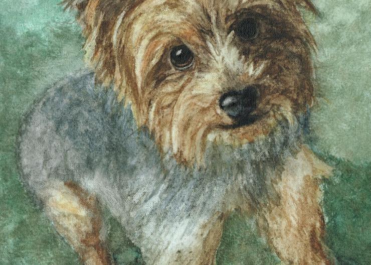 Yorkie Art | Blissful Bonita Art Studio & Gallery