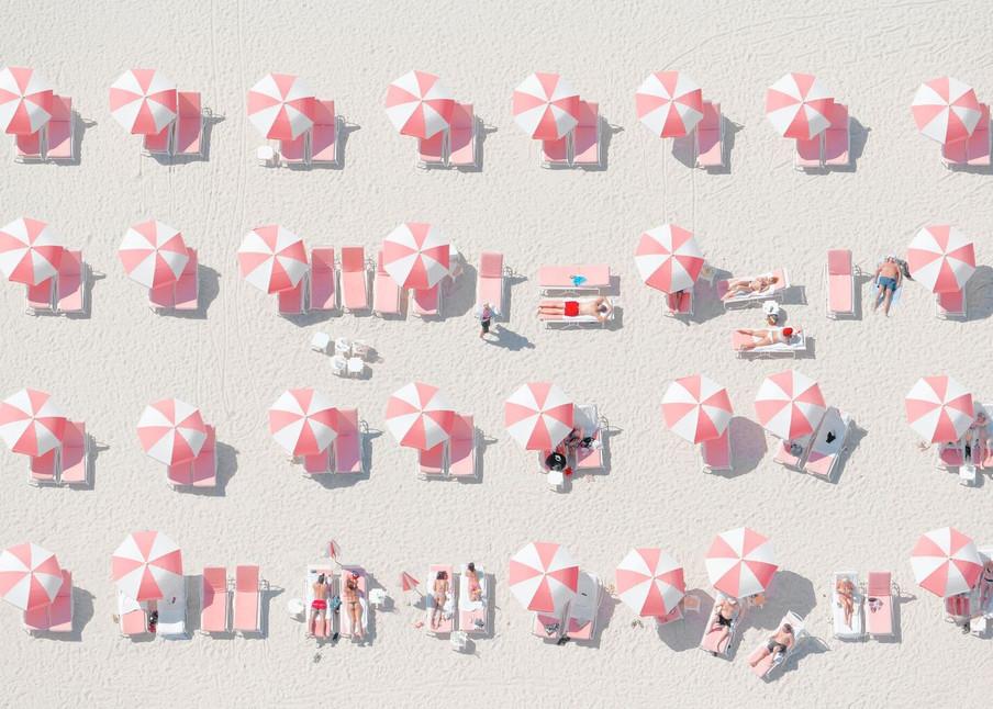Pink Umbrellas Photography Art   DE LA Gallery