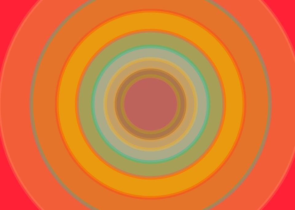 Orbital, With Every Beat, a fine art print by LA based artist Paul Westacott