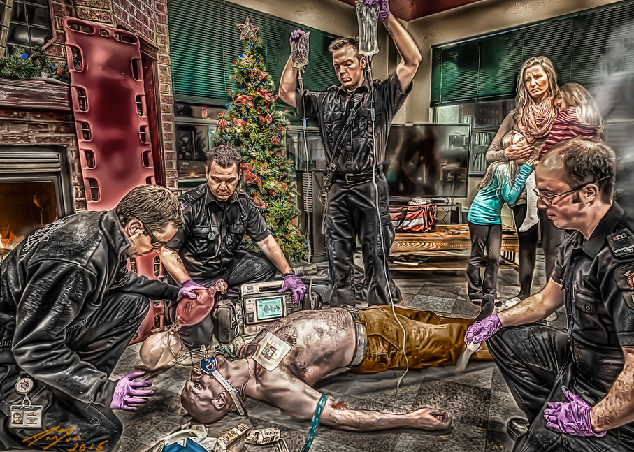 Christmas Nightmare Art   DanSun Photo Art