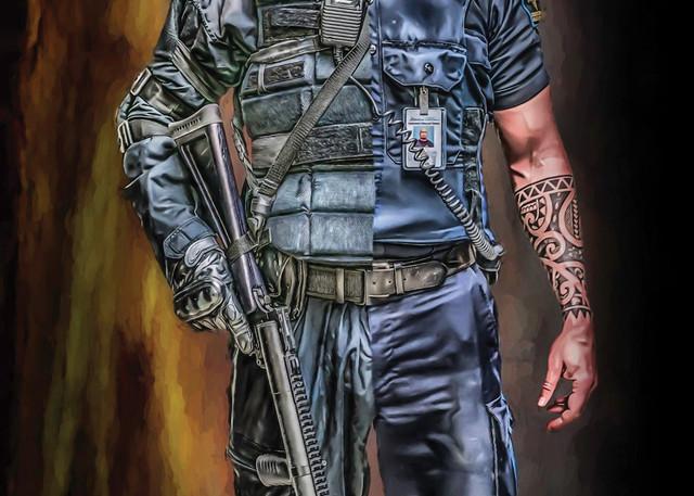 The Corrections Officer Art | DanSun Photo Art