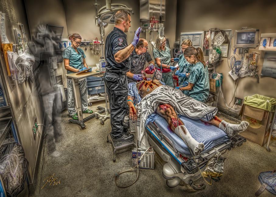 Trauma Room Art   DanSun Photo Art