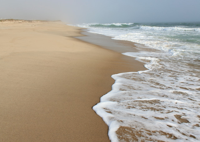 """Cisco Beach Incoming Wave II"" Nantucket Fine Art Photograph"